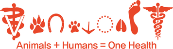 animals + humans = one health